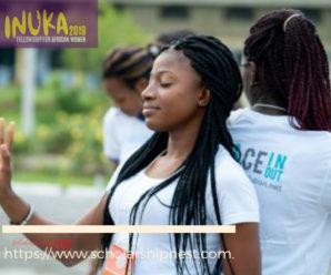 Inuka Fellowship for African Women in Rwanda, 2019