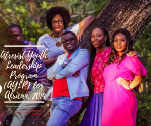 Afresist Youth Leadership Program (AYLP) for African, 2019