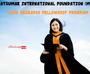 Matsumae International Foundation (MIF) Research Fellowship Program in Japan, 2020
