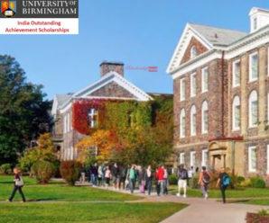 The University of Birmingham India Outstanding Achievement Scholarships