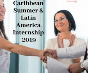 Caribbean Summer & Latin America Internship 2019