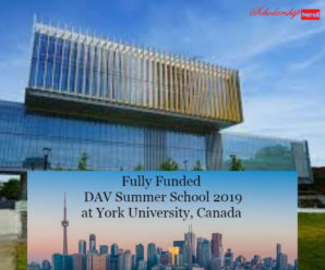 Fully Funded Create Dav Summer School Program for International Students in Canada, 2019