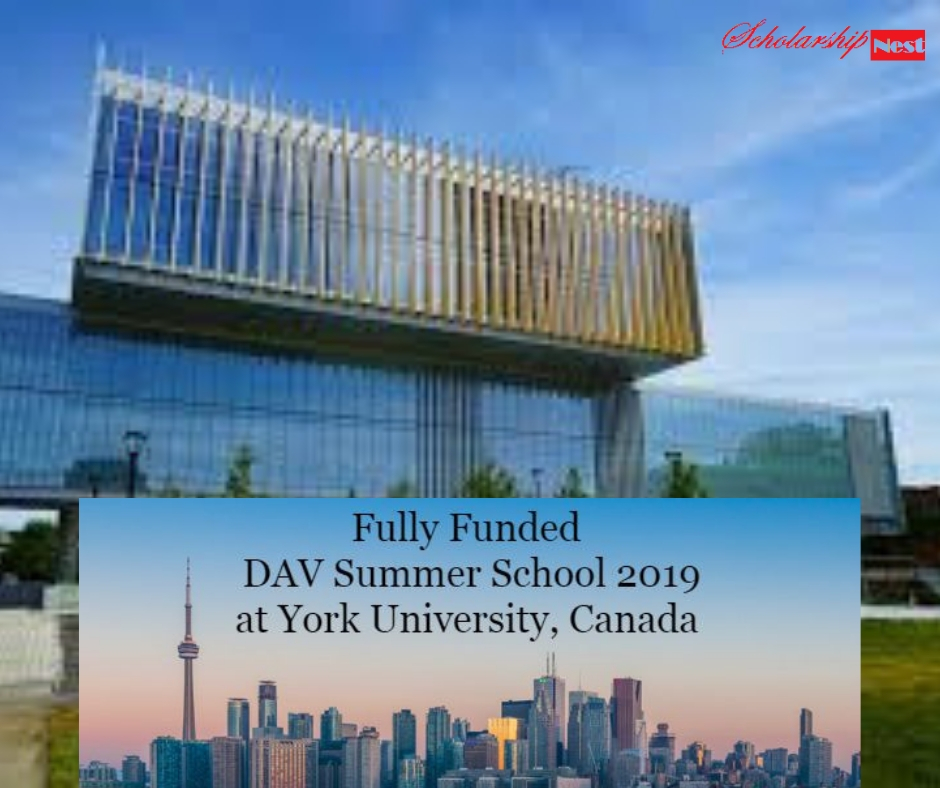 Fully Funded Create Dav Summer International Students in