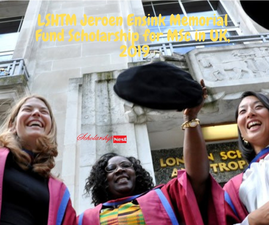 MSc in UK, 2019