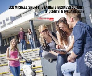 UCD Michael Smurfit Graduate Business School  Students in Ireland, 2019
