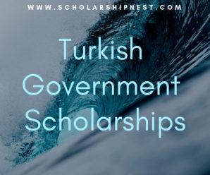Turkish Government Scholarships