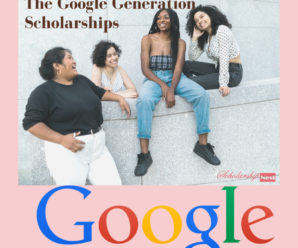 The Google Generation Scholarships