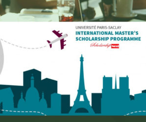 Université Paris-Saclay International Master's Scholarship  2019-2020
