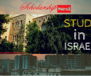 Israel Scholarships For International Students 2018-2019