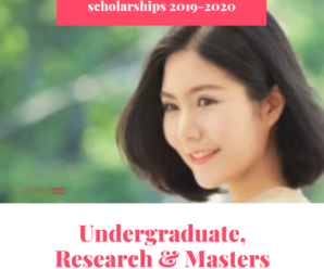 Japanese Government Scholarships For Undergraduate, Research & Masters International Students 2019-2020
