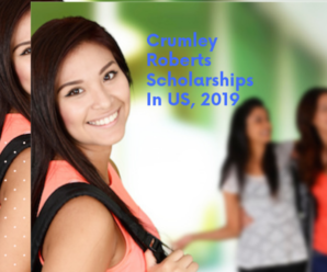 Crumley Roberts Scholarships In US, 2019