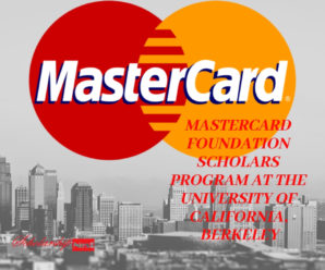 MasterCard Foundation Scholars Program at the University of California