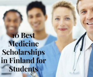 10 Best Medicine Scholarships in Finland for Students from Developing Countries