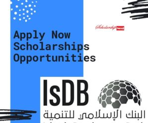 Scholarship 2019 Application Form www.isdb.org | APPLY NOW