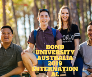 Bond University Australia 2019 International Scholarship