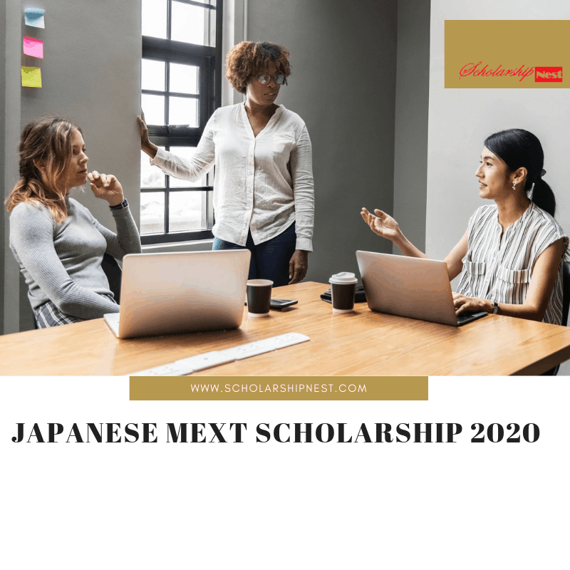 Japanese MEXT Scholarship 2020 for Nigerians