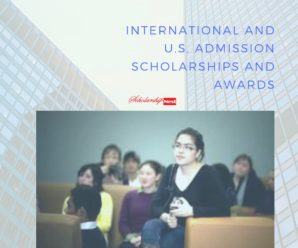 International and U.S. Admission Scholarships and Awards