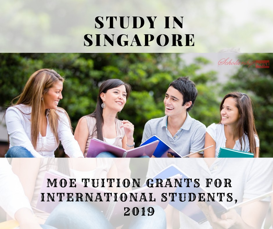 MOE Tuition Grants for International Students, 2019 ...