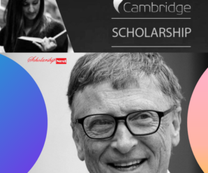 Gates Cambridge Scholarships For Masters & PhD 2019/2020