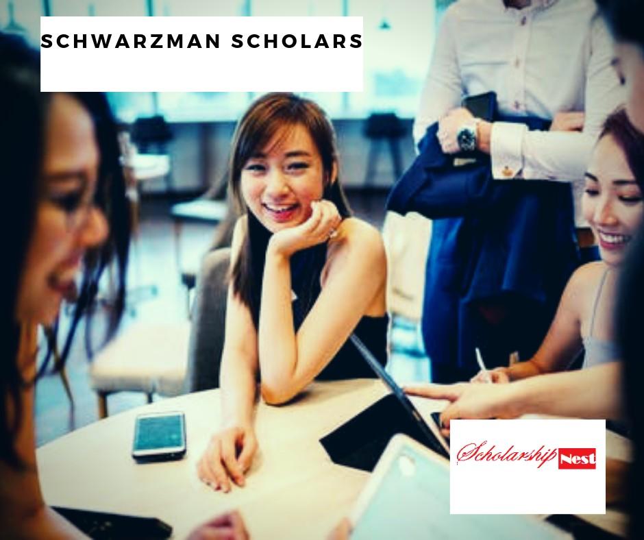 Schwarzman Scholars 2020/2021  for International Students,China