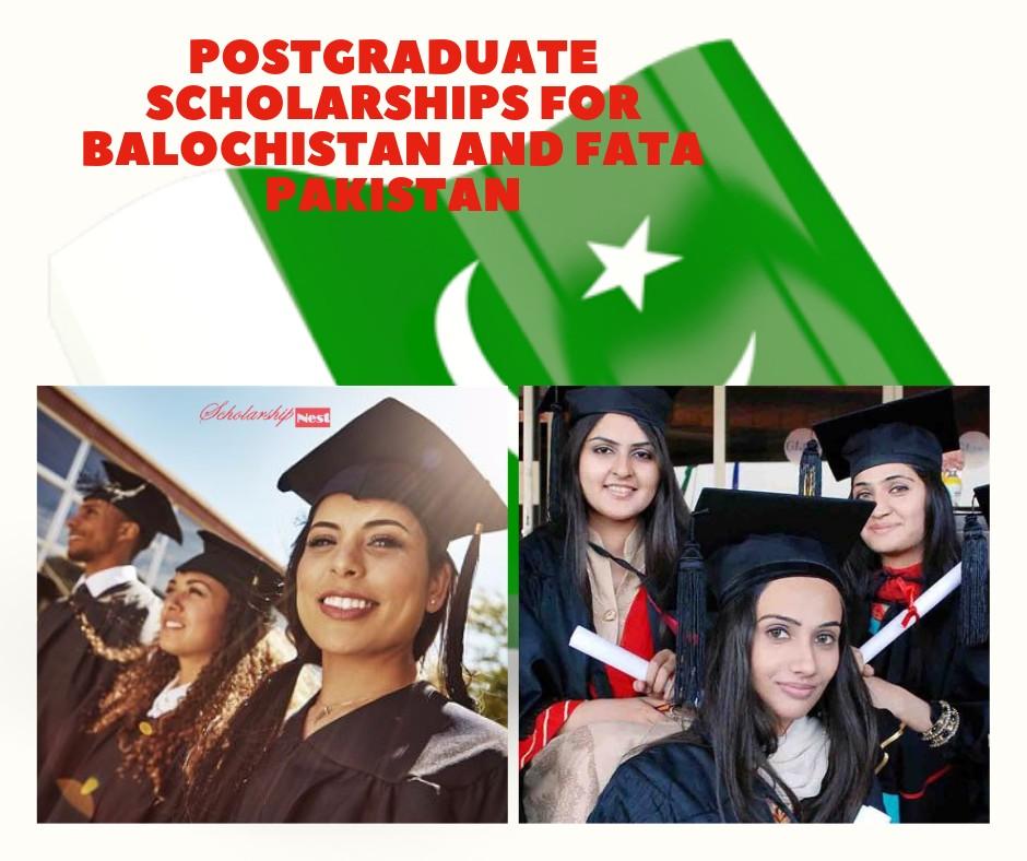 Postgraduate Scholarships (HEC) students of Balochistan and Fata, PAKISTAN