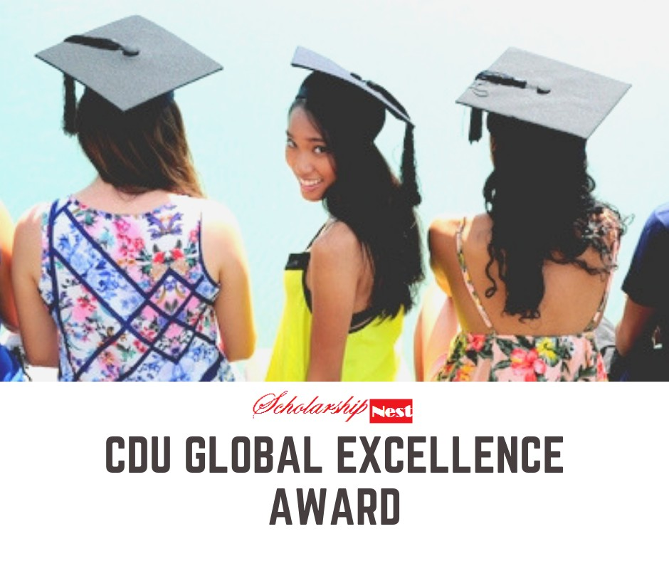 CDU Global Excellence Award for International Students in Australia, 2020