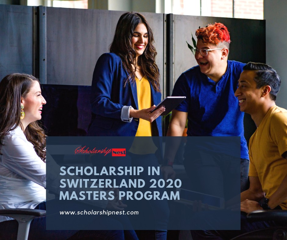 University of Lausanne Scholarship in Switzerland 2020 Masters Program