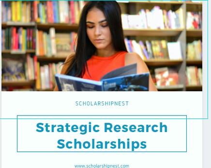 University of Nottingham Strategic Research Scholarships in China, 2019