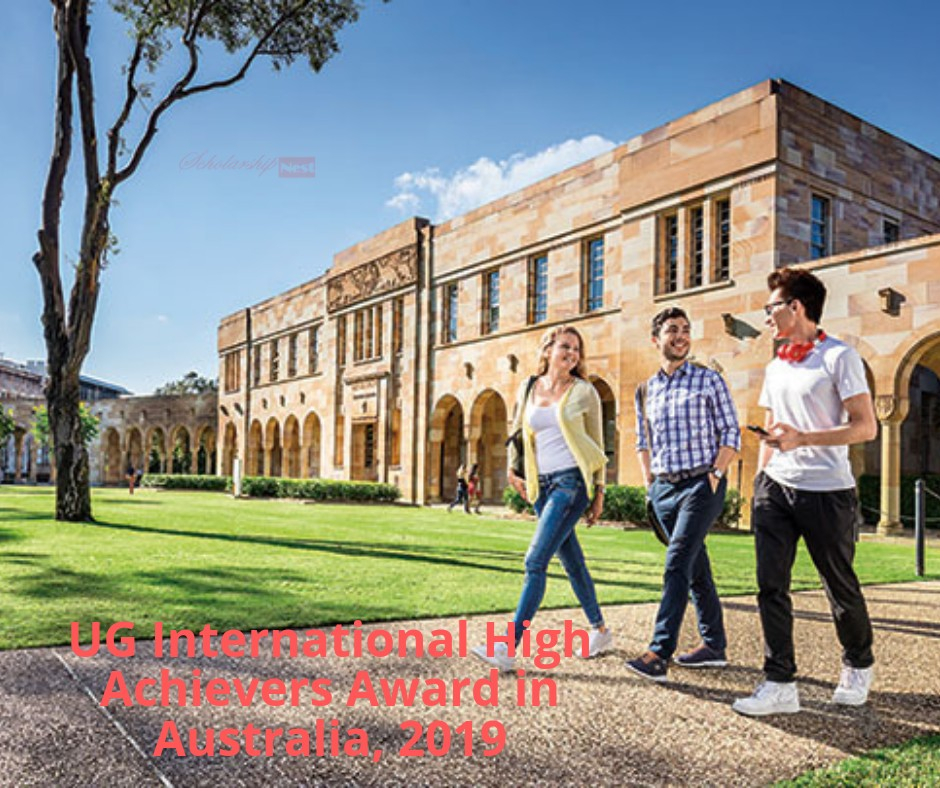 University of New South Wales Offers Arts & Social Sciences UG International High Achievers Award in Australia, 2019