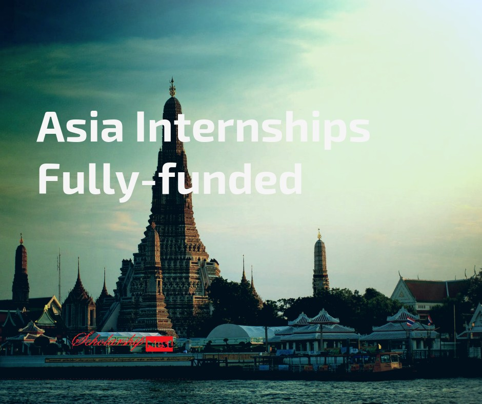 Asia Internships Fully-funded CRCC for International Students 2020