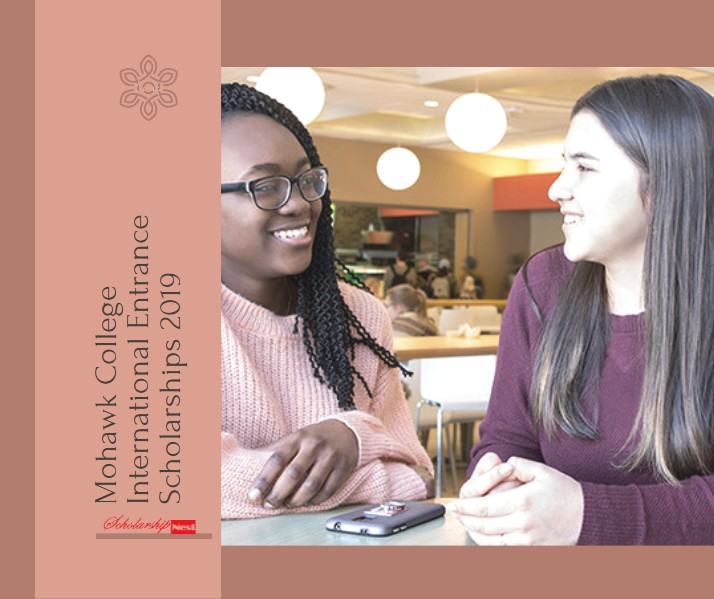 Mohawk College International Entrance Scholarships 2019  in Canada