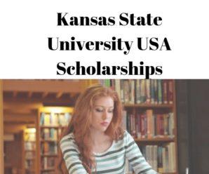 Kansas State University USA Scholarships