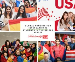 Global funding for International Students in the United States