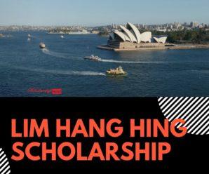 Lim Hang Hing Scholarship at Singapore Management University