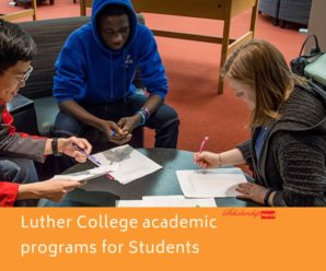 Luther College academic programs for International Students