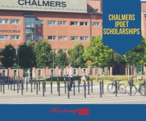 Chalmers IPOET Scholarships for International Students