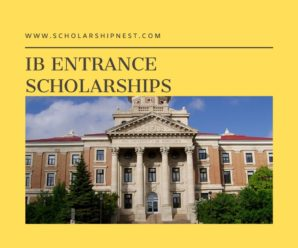IB Entrance Scholarships for International Students at Trent University in Canada, 2020