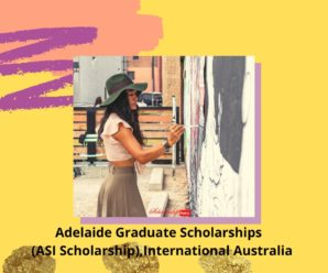 Adelaide Graduate Scholarships  (ASI Scholarship),International Australia