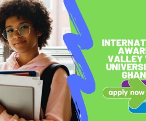 international awards Valley View University in Ghana 2020