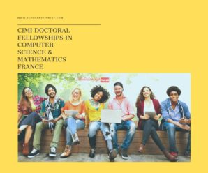 CIMI Doctoral Fellowships in  Computer Science  Mathematics,France