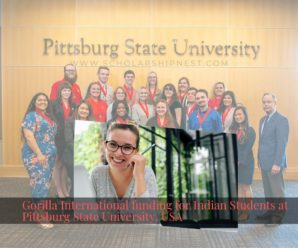 Gorilla International funding for Indian Students at Pittsburg State University, USA