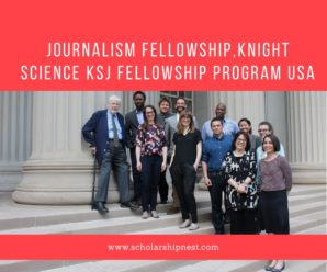 Journalism Fellowship,Knight Science KSJ Fellowship Program USA
