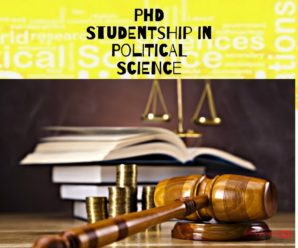 PhD Studentship in Political Science for International Students/Gothenburg