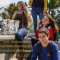 CDU Destination Australia funding for International Students