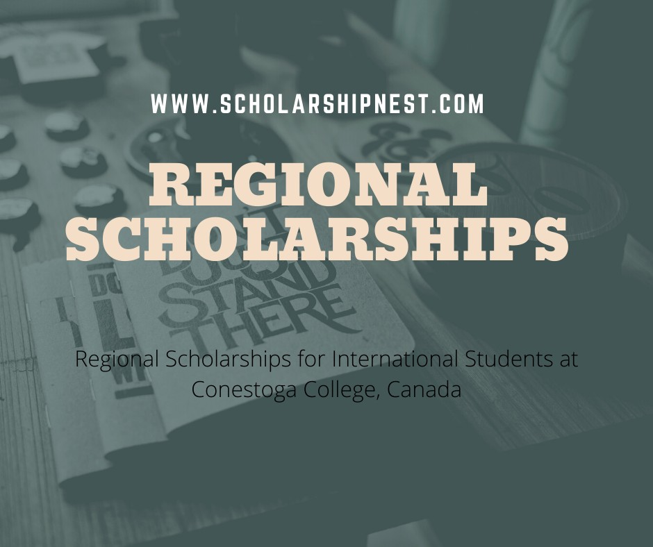 Regional Scholarships for International Students,at ...