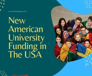 For International Students by New American University funding in the USA