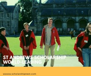 St Andrews Scholarship World-Leading in Earth Sciences and Chemistry,2020
