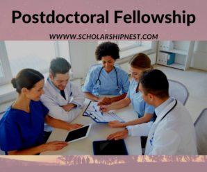 Postdoctoral Fellowship Epidemiology of HIV Associated Tuberculosis