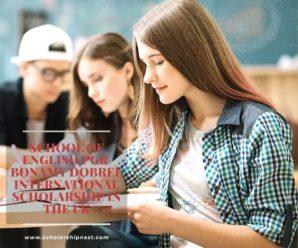 School of English PGR Bonamy Dobree International Scholarship in the UK