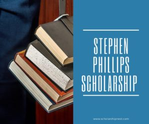 Stephen Phillips Scholarship Award